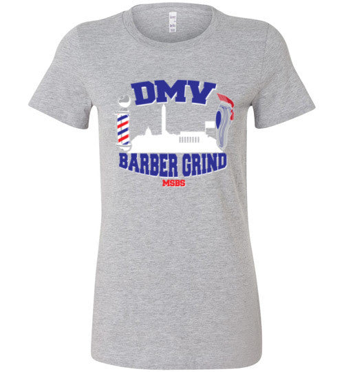 DMV Barber Grind Ladies Tee