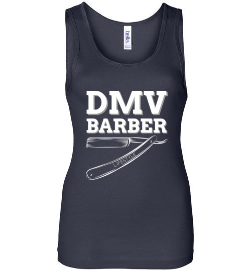DMV Barber Bella Wide Strap Tank