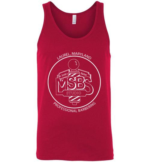 MSBS Cuts Canvas Unisex Tank