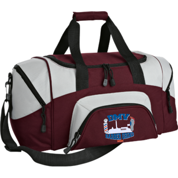 Small Colorblock Sport Duffel Bag