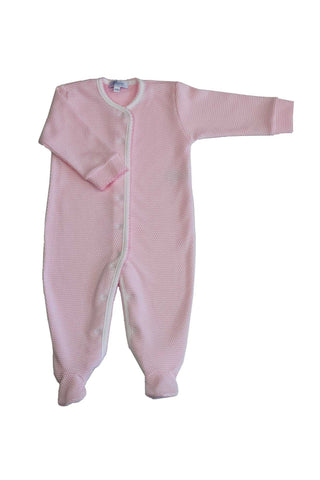Pink Bubble Baby Footie