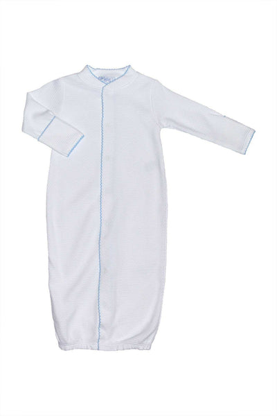 The softest Baby gown converter made of pima cotton  by Nella Pima