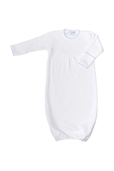 White Bubble Baby Gown Nella Pima