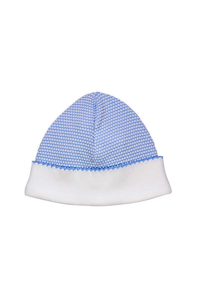 Blue Bubble Baby Hat | Nella Pima