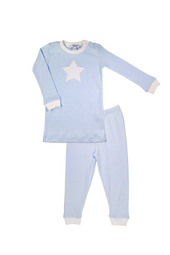 The cutest and softest baby pajamas made of 100% pima cotton by Nella Pima