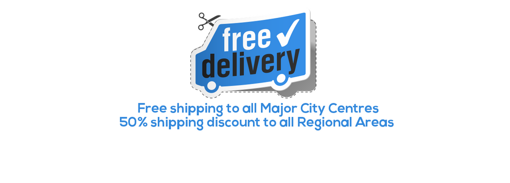Free Shipping to major city centres