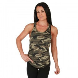 BW Apparel Ladies Stringer Camo