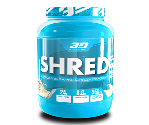 3D Nutrition Shred MRP