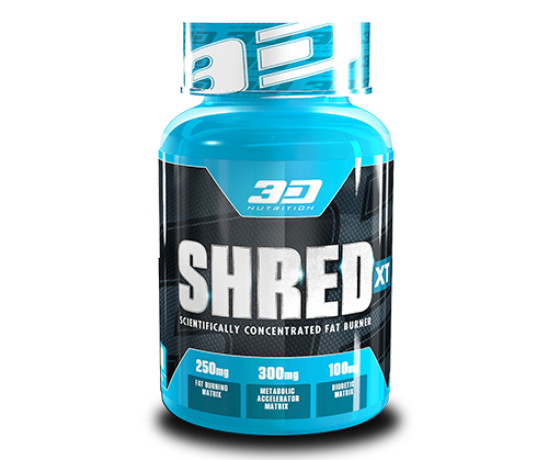3D Nutrition Shred XT