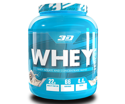 3D Nutrition Whey Isocon