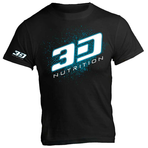 3D Nutrition T-Shirt Black