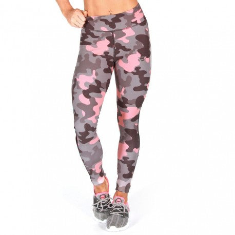 BW Apparel Womens Camo Long Leggings Front