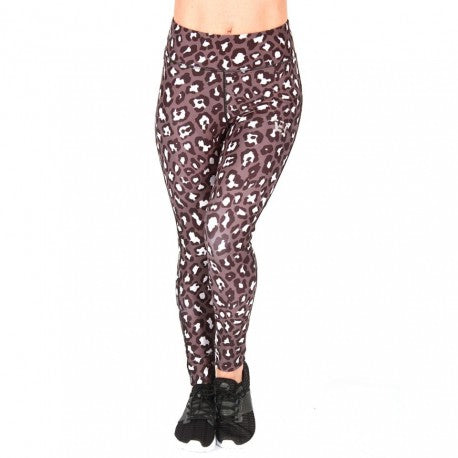 BW Apparel Women Leopard Long Leggings Front