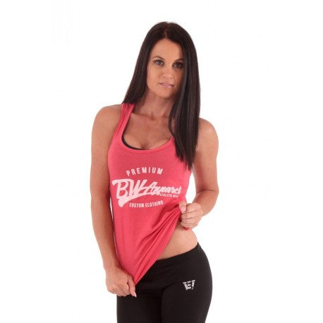 BW Apparel Womens Racer Back Coral