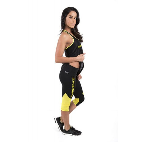 PharmaFreak Boost Gymwear PHARMAFREAK Leggings 3 Quarter Leg