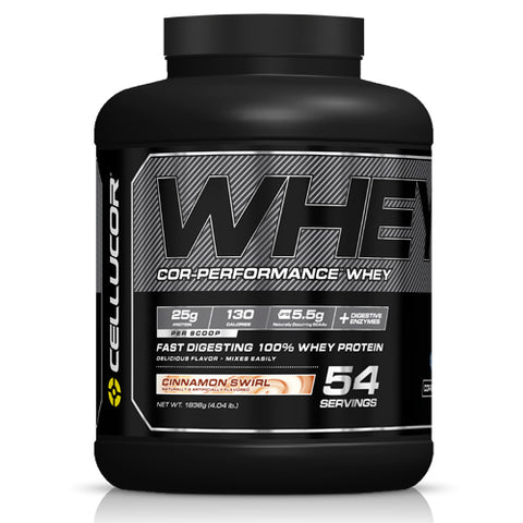 Cellucor COR Performance Whey Protein Cinnamon Swirl