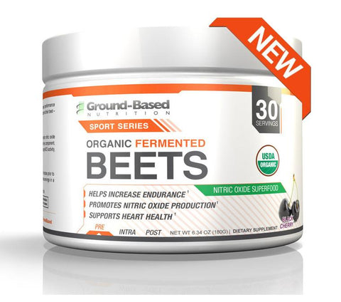Ground-Based Nutrition Organic Fermented Beets