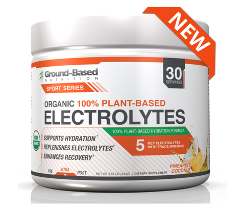 Ground-Based Nutrition Plant-Based Electrolytes