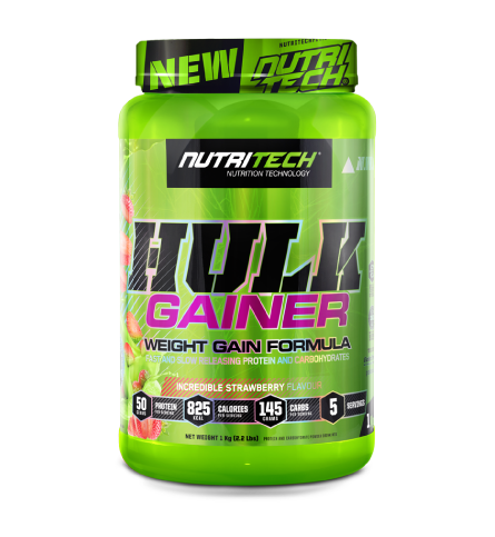 Nutritech Hulk Gainer Incredible Strawberry 1kg