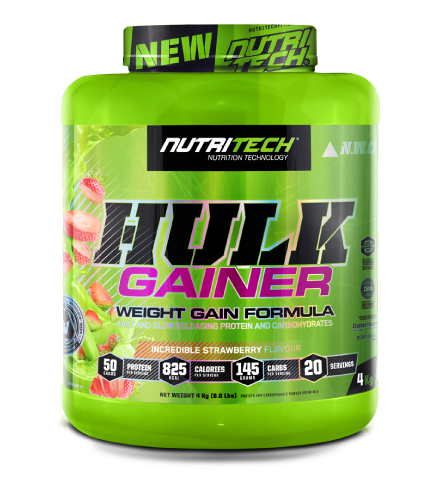Nutritech Hulk Gainer Incredible Strawberry 4kg