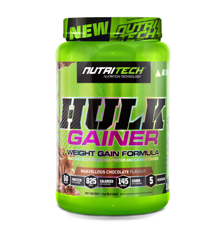 Nutritech Hulk Gainer Marvellous Chocolate 1kg