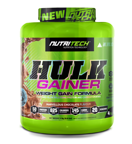 Nutritech Hulk Gainer Marvellous Chocolate 4kg