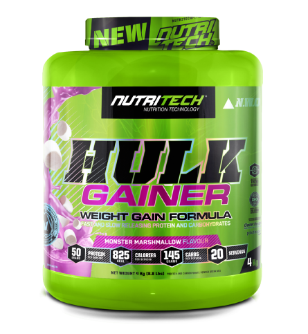 Nutritech Hulk Gainer Monster Marshmallow 4kg