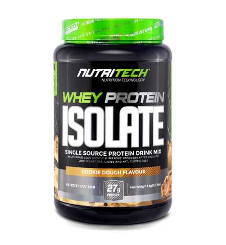 NutriTech Whey Protein Isolate Cookie Dough