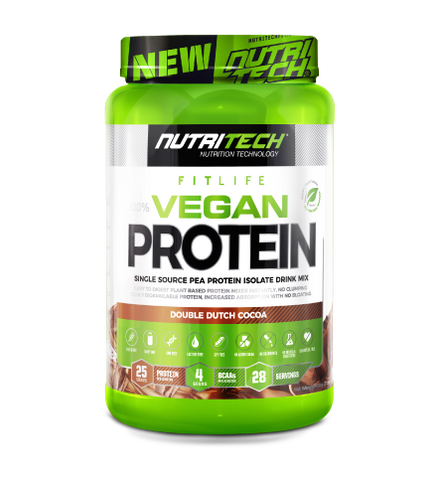 Nutritech Fitlife Vegan Protein Double Dutch Cocoa