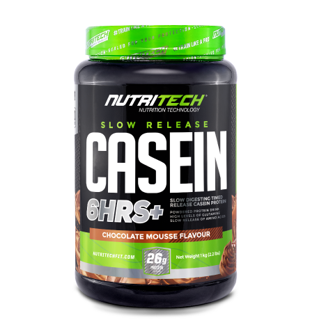 Nutritech Casein Slow Release 6HRS+ Chocolate Mousse