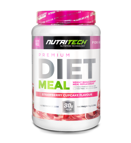 Nutritech Premium Diet Meal for Her Strawberry Cupcake