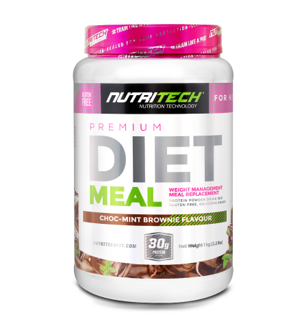 Nutritech Premium Diet Meal for Her Choc-Mint Brownie