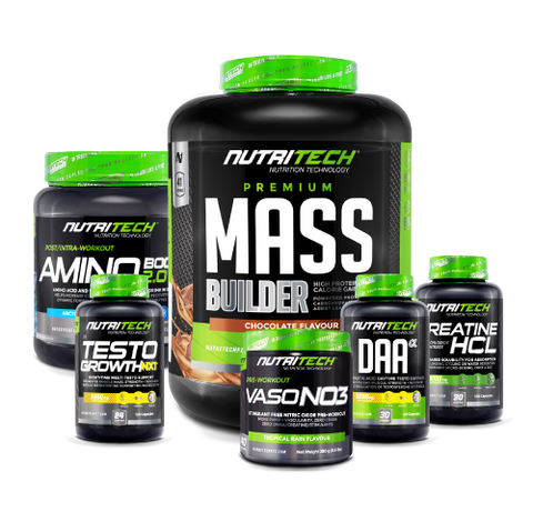 Nutritech Muscle Mass Builder Stack