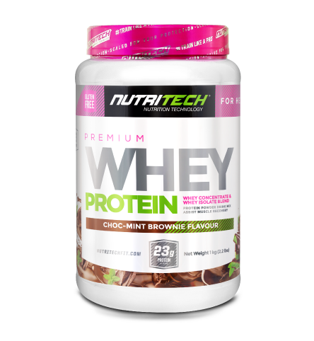 Nutritech Premium Whey Protein for Her Choc-Mint Brownie