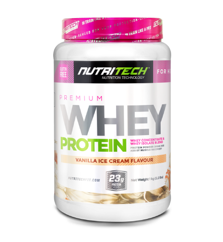 Nutritech Premium Whey Protein for Her Vanilla Ice Cream