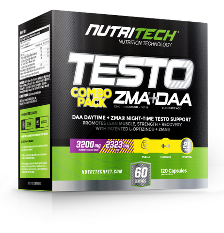 Nutritech Testo Boost Combo Pack