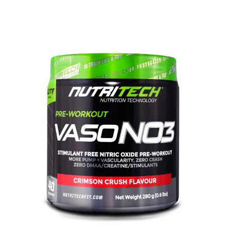 Nutritech VASO-NO3 Crimson Crush