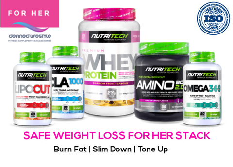 Nutritech SAFE Weight Loss for Her Stack