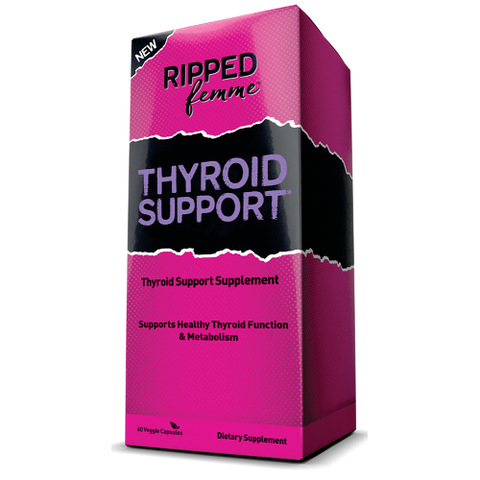 Ripped Femme Thyroid Support