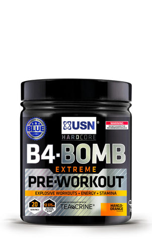 USN B4-Bomb Extreme Pre-Workout Mango Orange