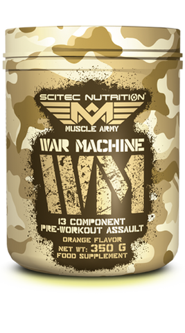Scitec Muscle Army War Machine