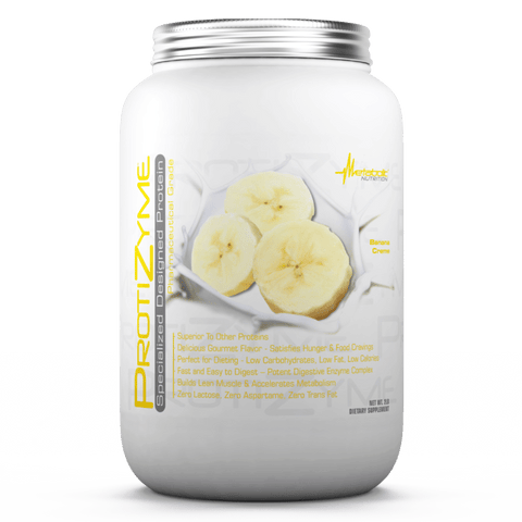 Metabolic Nutrition Protizyme Banana Creme