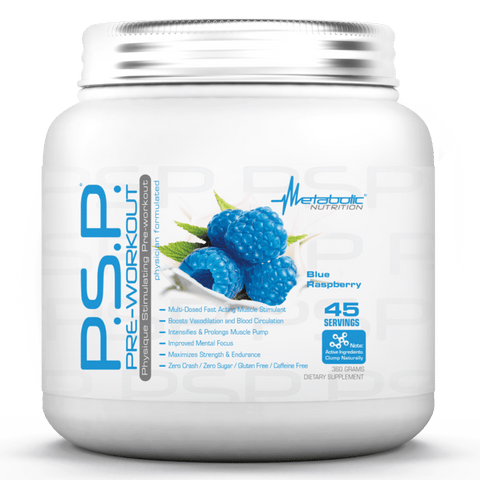 Metabolic Nutrition P.S.P Blue Raspberry