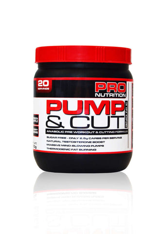 Pro Nutrition Pump & Cut