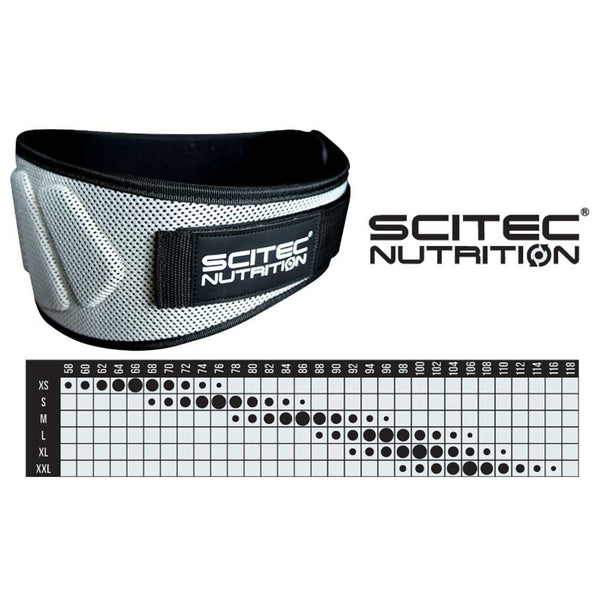 Scitec Weight Lifting Belt Sizing Guide