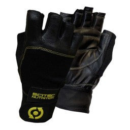 Scitec Gloves Yellow Leather Style