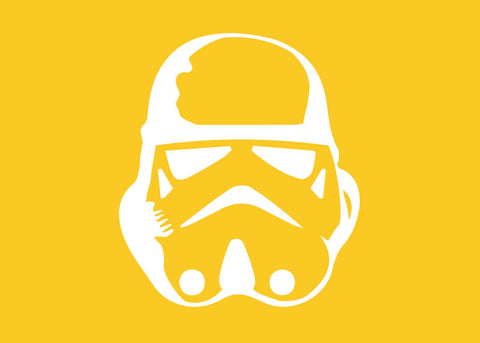 Star Wars Stormtrooper Silhouette for Nursery/Boys Room - 5x7