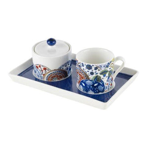 Pasabahce Iznik Plates Turkish Coffee Cup Set - Pasabahce - Pazarska