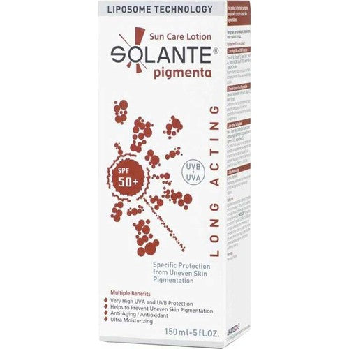 Solante Pigmenta Sun Care Lotion Spf 50+ 150 ml Anti-Pigment Sun Cream - Solante - Pazarska