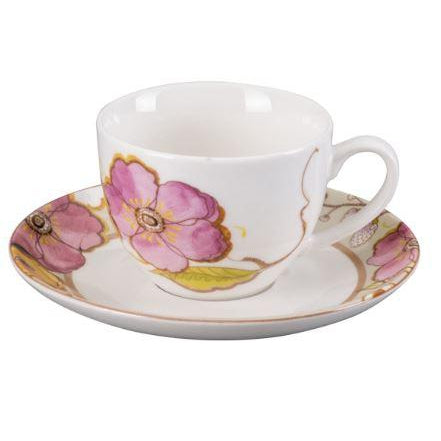 Pasabahce Blossom New Bone China Turkish Coffee Cup - Pasabahce - Pazarska